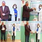 Doctora Seleyda Lorenzo dona medicamentos al Hospital  Las Caobas