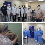 Hospital Municipal Engombe inicia vacunación de todo su personal