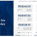 Gobierno aumenta 9.50 pesos por galón a gasolinas