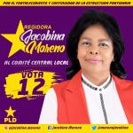 REGIDORA JACOBINA MORENO PRESENTA PROPUESTAS COMO POSTULANTE AL COMITÉ CENTRAL DEL PLD.