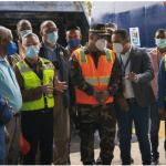 Obras Públicas y Ayuntamiento inician operativo de bacheo, limpieza y acondicionamiento vial en Santo Domingo Este