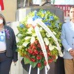 Alcaldía de Haina y Distrito Educativo 04-06 depositan ofrenda floral por el natalicio de Francisco del Rosario Sánchez