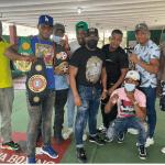 Amaya Boxing realiza encuentro con sus atletas en el club Blly Thompson
