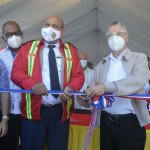 Alcalde Manuel Jiménez entrega estación de bomberos remozada en Ensanche Ozama