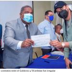 DGCP concluye que contratos entre el Gobierno y 54 artistas fue irregular