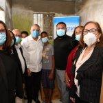 INAVI asiste a familia víctima de incendio en la ciudad de Santiago