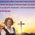 Mensaje de la vicealcaldesa SDO, Felipa Gómez, con motivo a la Semana Mayor