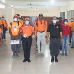 Defensa Civil realiza gran trabajo en el municipio Santo Domingo Oeste.