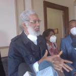 Sindicalistas se reúnen en Palacio y tratan tema de reorganización del transporte
