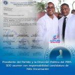 Presidente del Partido y la Dirección Política del PRM- SDO asumen con responsabilidad candidatura de Félix Encarnación