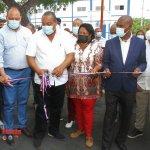 Alcaldía SDO entregó centro comunitario, una cancha y un parque en el sector Iván Guzmán Klang
