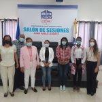 Equipo Profamilia  muestra  a vicealcaldesa SDO su Programa Jóvenes y Educación Comunitaria