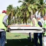 Ayuntamiento Santo Domingo Este tumba vallas ilegales ocupaban jardineras de la ciudad