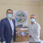INAGUJA dona mascarillas a la Asociación de Comerciantes del Mercado de Los Mina; anuncian jornada de vacunación