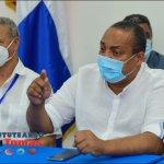 Rueda de prensa celebrada en la Alcaldía SDO sobre operativo de vacunación