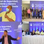 Alcalde SDO José Andújar encabeza encuentro con Mesa de Seguridad Ciudadanía y Género con el propósito de conocer avances