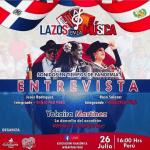La Doncella del Acordeón elegida para participar en el 2° Festival Nacional e Internacional de Folklore Lazos del Mundo realizado en Perú.