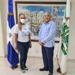 Radhamés González recibe visita de Judith Gomez; Habla sobre  OMSA y colaboraciones que ella realiza.