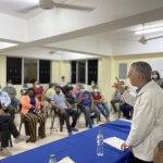 Alcalde Manuel Jiménez coordina trabajos con liderazgo social y económico de Santo Domingo Este
