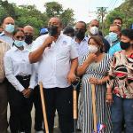 ASDO INICIA TRABAJOS EN CALLE PRINCIPAL DE MANOGUAYABO