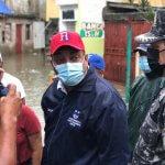 ALCALDE SDO ACUDE EN AYUDA DE LOS AFECTADOS POR LAS LLUVIAS