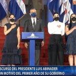 Acto con Motivo del Primer Año de Gobierno del Presidente Luis Abinader.