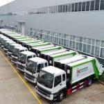 Empresa informa retraso en llegada de camiones de basura comprados por Ayuntamiento Santo Domingo Este