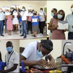 Centros Tecnológicos Comunitarios capacita a jóvenes en reparación de celulares.